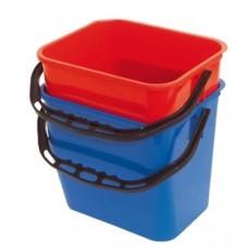 ReadySystem plastikinis kibiras 12 l mėlynos spalvos
