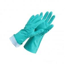 Antibakterinės nitrilo pirštinės, L (9 dydis)