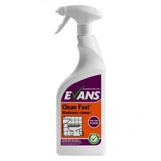 Clean Fast purškiamas baktericidinis sanitarinis valiklis 750 ml