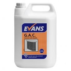 EVANS rūgštinė valymo priemonė G.A.C., 5 l
