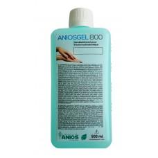 ANIOSGEL 800 hidroalkoholinis gelis higieninei ir chirurginei rankų dezinfekcijai 500ml