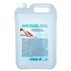 ANIOSGEL 800 hidroalkoholinis gelis higieninei ir chirurginei rankų dezinfekcijai 5 l