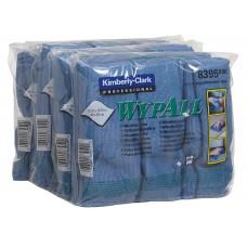 WypAll šluostė iš mikropluošto įvairiems paviršiams valyti 40x40 cm mėlyna spalva