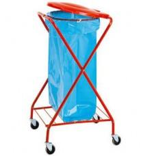 """Šiukšlių surinkimo vežimėlis """"X"""" 120l"""