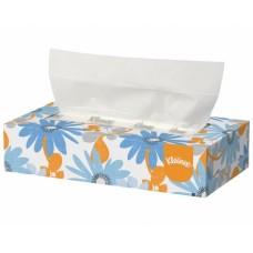 Wepa veido servetėlės dėžutėje, 2 sl., baltos, servetėlė 21x20,5 cm, dėžutėje 100 servetėlių. Pakuotėje 40 dėžučių
