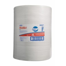 Wypall X60 šluostės dideliuose rulonuose, baltos, 1 sl., rulone 750 servetėlių, 285 m