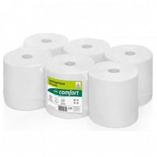 Wepa ruloninis rankų valymo popierius, baltas, 2 sl., rulone 652 servetėlės, 150 m. Pakuotėje 6 vnt rulonų.