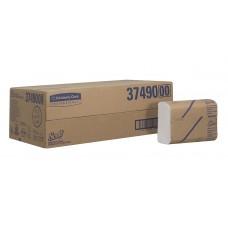 Scott Multi-Fold rankų valymo servetėlės baltos, 1 sl., servetėlė 24x20 cm, pakelyje 250 vnt. Pakuotėje 16 pakelių. 3749
