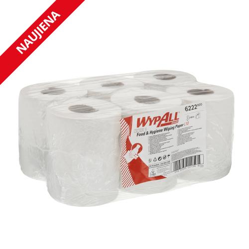 KIMBERLY-CLARK Wypall Reach L10 Food & Hygiene ruloninis popierius traukiamas iš vidaus