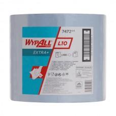 Wypall L10 Extra šluostės dideliuose rulonuose, mėlynos, 1 sl., rulone 1000 servetėlių, 380 m