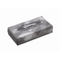 Kleenex veido servetėlės dėžutėje, 2 sl., baltos, servetėlė 21,5x18,6 cm, dėžutėje 100 servetėlių. Pakuotėje 21 dėžutė