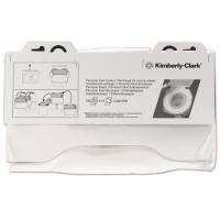 Kimberly-Clark Professional servetėlės tiesiamos ant klozeto dangčio, 1 sl., servetėlė 39,3x38,1 cm, pakelyje 125 vnt. Pakuotėje 12 pakelių