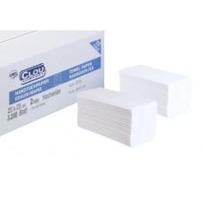Wepa rankų valymo servetėlės baltos, 2 sl., servetėlė 24x22 cm, pakelyje 200 vnt. Pakuotėje 20 pakelių. 276244