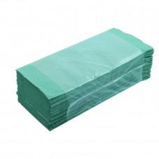 Rankų valymo servetėlės žalios, 1 sl., servetėlė 25x20 cm, pakelyje 250 vnt. Pakuotėje 20 pakelių. SLZ45