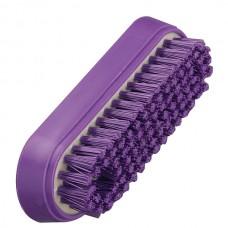 Anti-Microbial nagų šepetėlis Hillbrush kietais šereliais 122mm - Purple