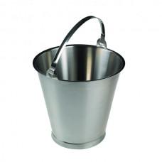 Nerūdijančio plieno kibiras 12 litrų
