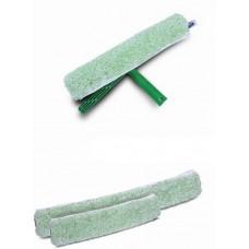 HUNT Micro žalias langų valytuvo plušinis antgalis, 35 cm