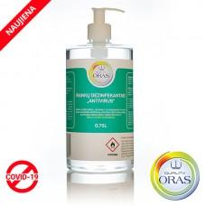 ORAS rankų dezinfekantas ANTIVIRUS 0,75L