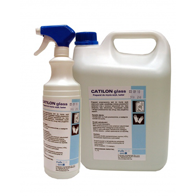 Glass cleaning agents